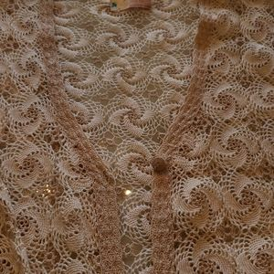 💥10 FOR $75 Crochet Lace sweater